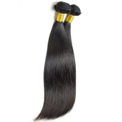 "IUEENLY Hair Virgin Brazilian Hair 4""4""Lace Closure With 3 Bundles Straight Weave Remy Human Hair Natural Colour"