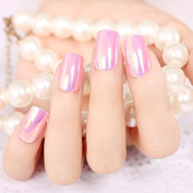 Pink High Light Long False Nails