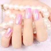 Pink High Light Long False Nails