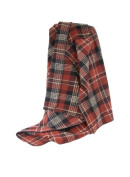 HiEnd Accents Plaid Fleece Throw