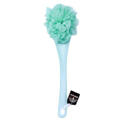 Bubble_Shop Bath Shower Ball Body Back Brush Nylon Mesh Supersoft Sponge Long Handle