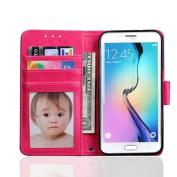 Samsung Galaxy S7 edge Case FUA® Leather Cover Case Flip Wallet Cover For Samsung Galaxy S7 Edge