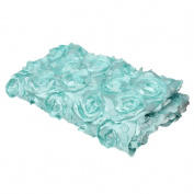 OVERMAL Baby Newborn 3D Rose Flower Photography Photo Prop Backdrop Rug Blanket