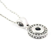 Simple Ever 45cm DIY Necklace with Snap Button Fit DIY 12mm Snap Button Charms