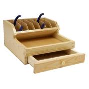 Wood Plier Rack Organiser with Drawer SFC Tools - 13-376