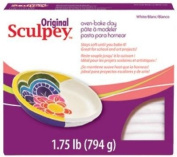 Polyform Sculpey Original Polymer Clay, 0.8kg, White