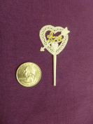 Lot of 144 Pieces of Love Heart Pick for Party , Favour, Cake Topper Toothpick