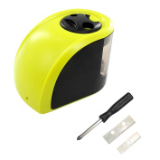 Xcellent Global Double Hole Electric Pencil Sharpener, Battery or Adapter Operated, Great for Art, School & Office PC027