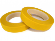 Floral Tape Yellow 4 Rolls 30 Yards Foral Light Glue Cohesive 12 mm Pair Artificial Flower Stem Tool