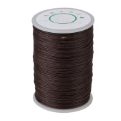 BOPU 100 Metre 0.6mm Brown Handwork Tents Leather Sewing Craft Ramie DIY Waxed Thread Cord Round