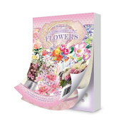 Hunkydory Third Little Book of Flowers 144 4x6 pages!