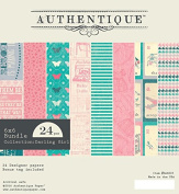 """Authentique Paper """"Darling Girl"""" 6x6 Paper Pad"""
