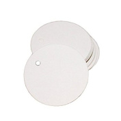 100 Pcs Round Shape Blank Cards Kraft Label Price Tag Chronicle notes Wedding Party Name Card