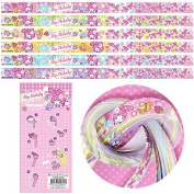 My Melody Lucky Wish Star Origami Paper Folding Star 60 pcs 6 Colours