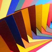Origami Paper 100 sheets | Contrasting Colour Collection