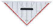 Rumold 1058 Set Square Ruler 32.5 cm Plastic Transparent