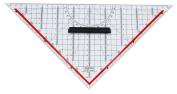 Rumold 1058 Set Square Ruler 32.5 cm Plastic Transparent