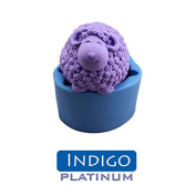 Platinum Indigo(20 ShorA) top class silicone rubber for DIY mould making 180ml