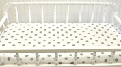 New Arrivals Wink Changing Pad Covers, Grey/white/aqua