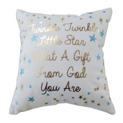 "Sentiment ""Twinkle, Twinkle"" Mini Throw Pillow"