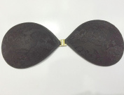 Happyi 1 Pairs Strapless Deep V Wing Breast Pad Push-up Invisible lace Bra