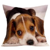Pillow Cases,Dirance(TM) Home Decor Vintage Cute Dog Square Sofa Bed Decoration Festival Pillow Case Cushion Cover