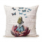 Pillow Cases,Dirance(TM) Home Decor Girl Printed Square Sofa Bed Decoration Festival Pillow Case Cushion Cover