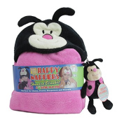 Happy Nappers Hooded Blanket with Sing-a-Long Ladybug