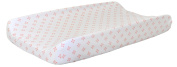 New Arrivals Harper Changing Pad Cover, Coral