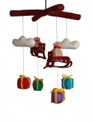 Silk Road Bazaar Mobile, Santa's Sleigh/Multicoloured, 0-3 Years