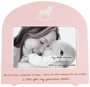 My Soul's Window 4145 Rocked to Sleep Girl Frame, 21cm , Holds 10cm by 15cm Photo