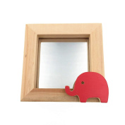 CECII Little Animal Baby Wood Picture Frame,Desktop Photo Frame,Home Decor 7.6cm x 7.6cm
