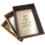 CECII CECII 1Pcs Wood Picture Frame,Desktop Photo Frame,Home Decor, 4×15cm