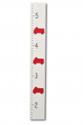 Firetruck Growth Height Chart