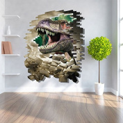 3D dinosaur wall stickers Wall Decal Mural Nursery Home Decor