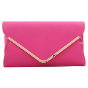 ABage Women's Clutch Purse PU Leather Versatile Evening Envelop Clutch Handbags