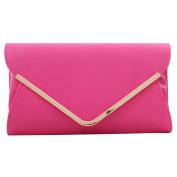 ABage Women's Clutch Purse PU Leather Versatile Evening Envelop Clutch Handbags
