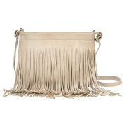 Women Fringe Satchel Casual Formal Faux Leather Shoulder Bag Crossbody Bag
