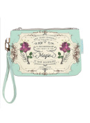 Papaya Art Magic of Beginnings Wallet Wristlet