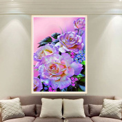 LAY'S 5D Diamond Painting Kit Ayaka Flower Cross Stitch Embroidery DIY Craft for Home Wall Decor