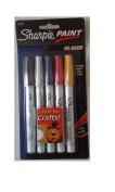 Sharpie DT737213 Paint Marker Fine Assorted Oil Based Permanent Set of 5 Markers
