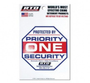 PRIORITY SECURITY DECAL