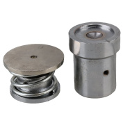BOPU Silver Tone Heavy Duty Metal Fabric Covered Button Hand Press Machine Dies Mould Tool