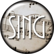 Snap button Music Sing 18mm Cabochon chunk charm