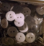 Blacks Assorted Coloured round Buttons Set