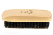 Beard Brush, Pocket Boar Bristle Soft Hair Brush, Best For Grooming, Facial Hair, Moustaches, Balms, Oils and Waxes
