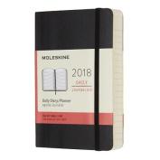 Moleskine 12 Month Daily Planner, Pocket, Black, Soft Cover