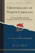 Ornithology of North Carolina
