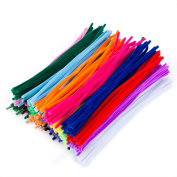 Caydo 342 Pcs Pipe Cleaners Chenille Stem 6 mm x 12 Inch, Assorted Colours