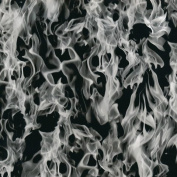 Hydrographic Film - Water Transfer Printing - Hydro Dipping - Clear Flames - 1 Sq. Metre